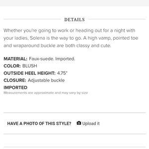 Shoe Dazzle Shoes - New Blush High Heels